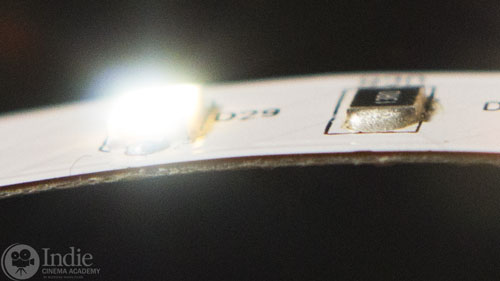 LED Ribbon is Very Thin