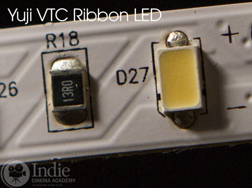 Yuji diode and resister components