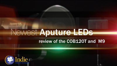 Newest Aputure LEDs: Review of the COB120T and M9 [Video]