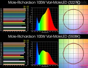 Mole-Richardson 100W Vari-MoleLED BiColor LED