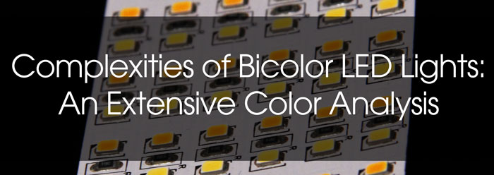 Complexities of Bicolor LED Lights: An Extensive Color Analysis