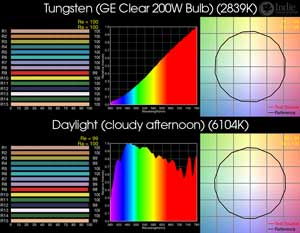 STANDARDS: Tungsten and Daylight